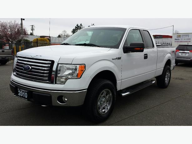 used 2010 ford f 150 4x4 xtr super cab for sale in parksville outside victoria victoria. Black Bedroom Furniture Sets. Home Design Ideas