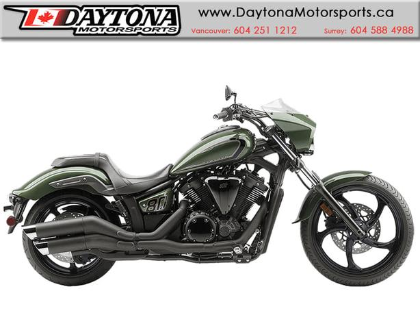 2015 Yamaha Stryker 1300 SE.  Low and Mean Chopper Style!