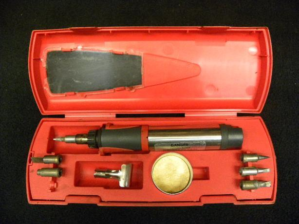 snap on butane soldering iron set victoria city victoria. Black Bedroom Furniture Sets. Home Design Ideas