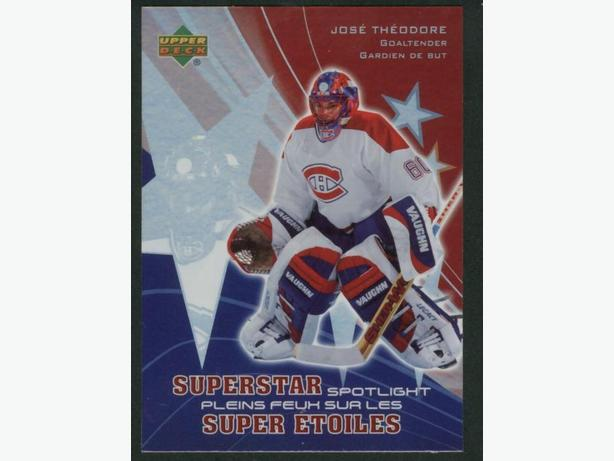 2005/06 Upper Deck McDonald's Superstar Spotlight #SS6 Jose Theodore