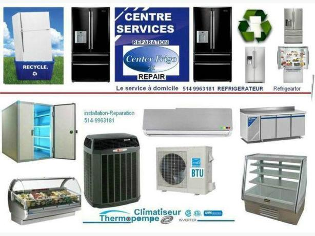 MONTREAL EXPRESS APPLIANCE REPAIR 514-9963181 REPARATION EXPRESS REFRIGERATEUR