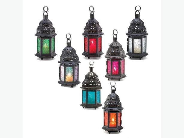 Moroccan Candleholder Lantern 8 Colors Red Green Pink Blue Mix&Match Any 6 New