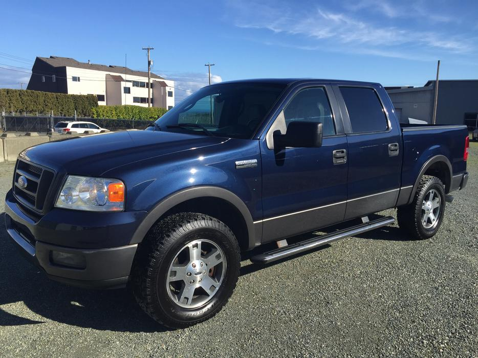 2005 ford f 150 4x4 lariat 5 4 triton outside okanagan. Black Bedroom Furniture Sets. Home Design Ideas