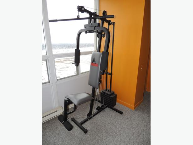 Great deal home gym weider model with manual central