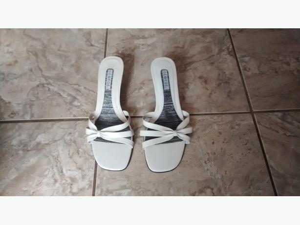 Ladies White Shoes - Size 9