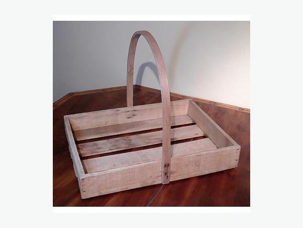 Vintage Bentwood Berry Picking Basket