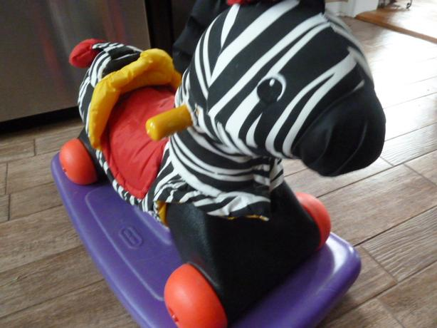 Little Tikes Rock & Scoot Zebra and Pony