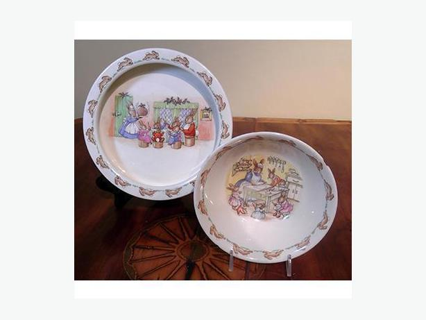 Vintage Royal Doulton Bunnykins Bowls