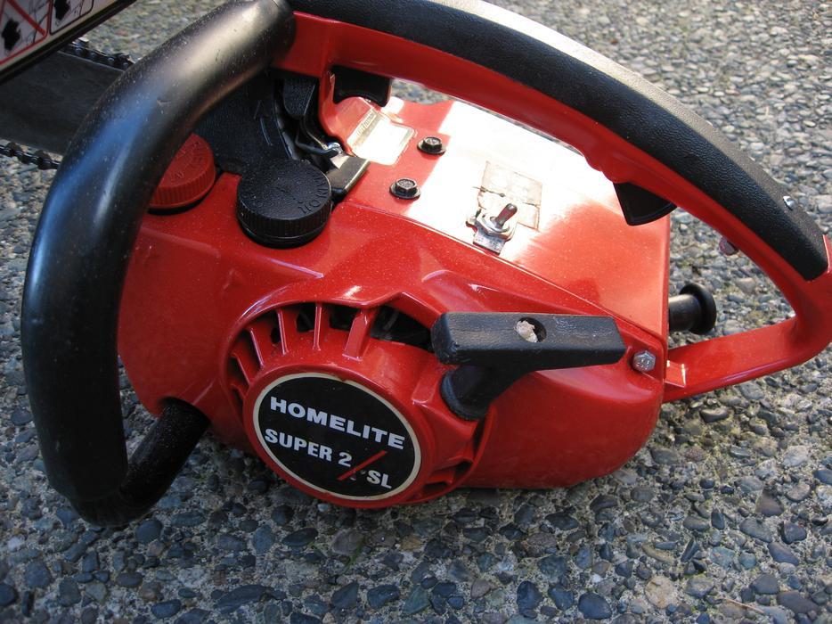 Homelite Super 2 sl chainsaw Manual