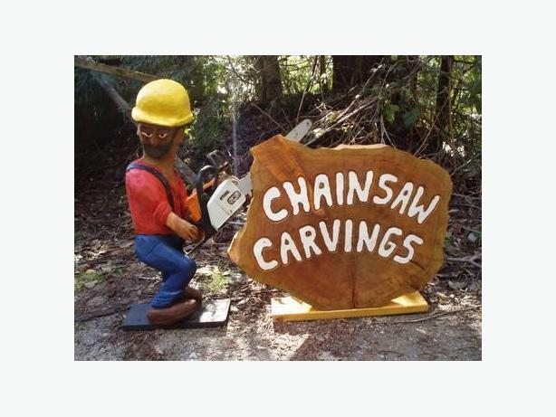 Chainsaw Figures and Animals