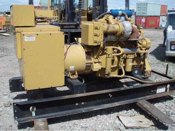 DIESEL GENERATOR CAT 3406 400KW 208V