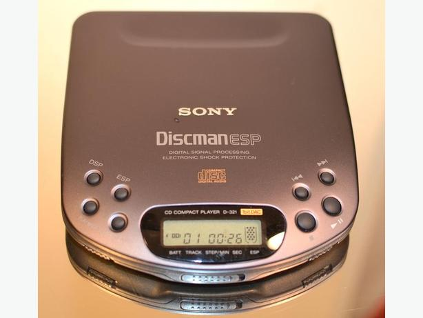 SONY D-321 DISCMAN WALKMAN PORTABLE CD PLAYER * HI-END MODEL *