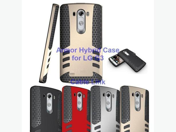 New Armor Hybrid Rocket Style Durable Case for LG G3