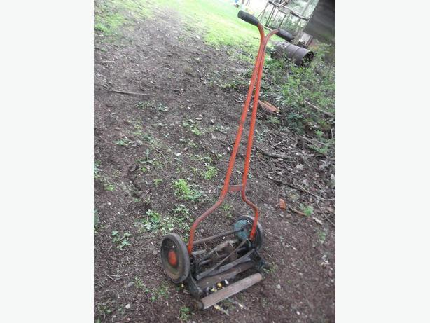 Antique Eatons Push mower