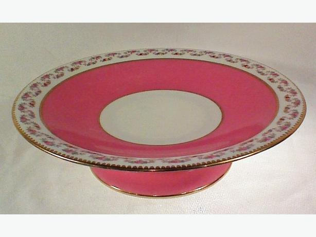 Aynsley pedestal cake stand compote