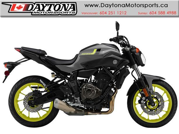 2016 Yamaha FZ-07 Sport Motorcycle