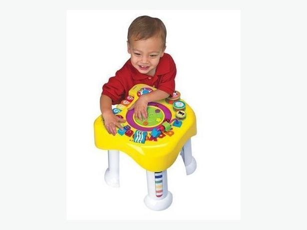 Brand New Little Scholastic Discover n' Play Learning Table Trilingual - $25