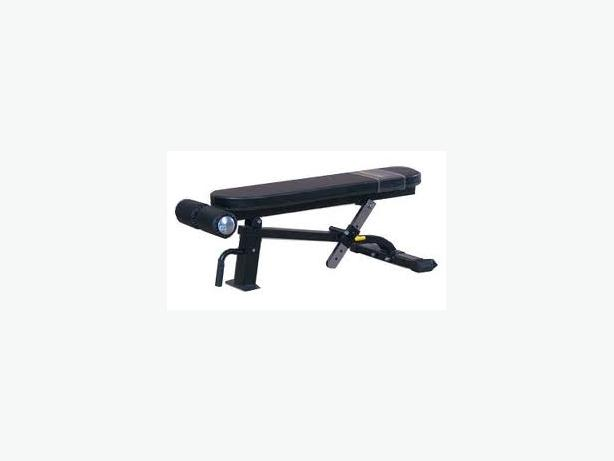 Powertec P-FB Flat Bench Plus (600lb capacity)