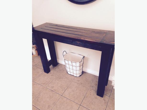 """rugged"" Entry way Table"