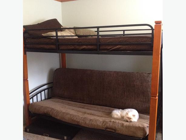 Single Over Double Futon Bunk Bed Saanich Victoria