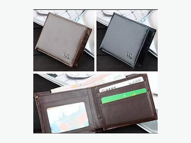Leather Wallet Purse Men and Business Style