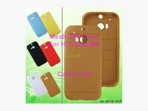 New Mesh TPU Case for HTC One M8