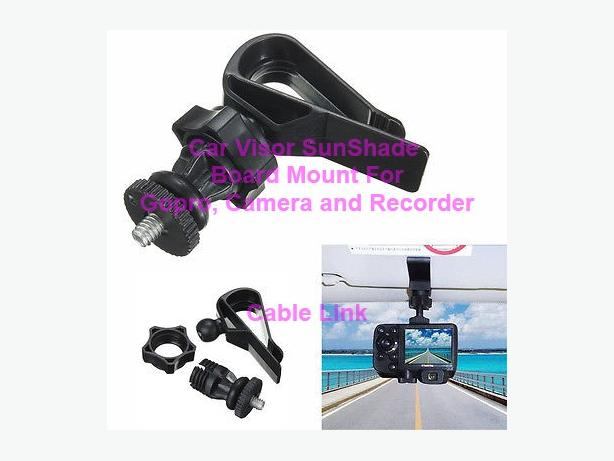 Car Visor SunShade Board Mount Holder for Gopro 1 2 3 3+ 4