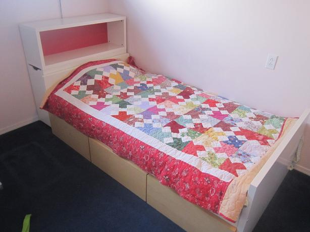 Twin Size Ikea Flaxa Bed In Excellent Condition Port