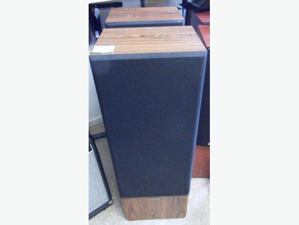 Pair of Vintage Kenwood JL-999 Floor Standing 3 Way Speakers
