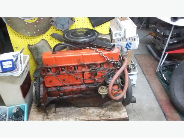 1967 Chevy Acadian 194 6 Cylinder Engine (runs)