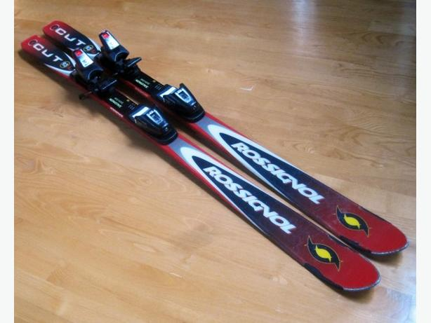 135cm Rossignol CUT ~ Easy Adjustable Bindings