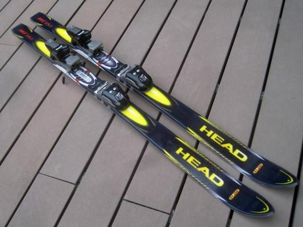 130cm Head MT-15j Skis