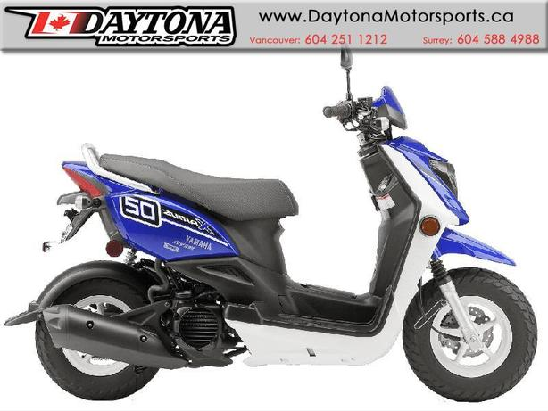 2015 Yamaha Zuma X Scooter