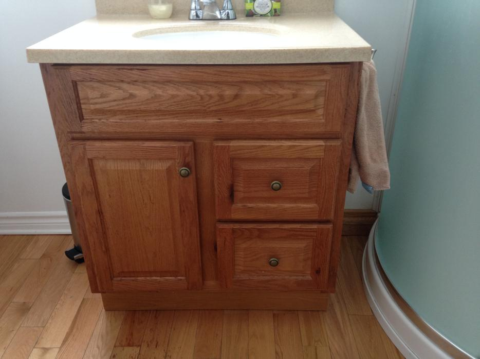 Bathroom cabinet sink with faucets orleans ottawa for Bathroom cabinets nanaimo
