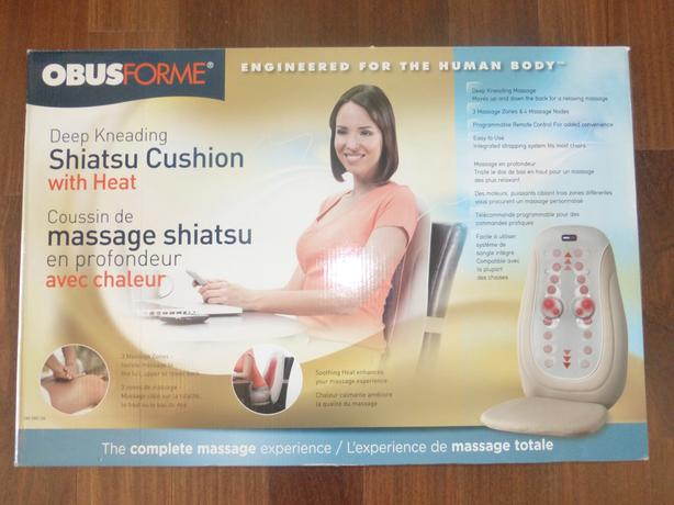 Obusforme Shiatsu Cushion