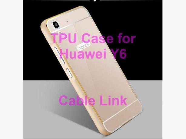 Transparent Soft TPU Case for Huawei Y6