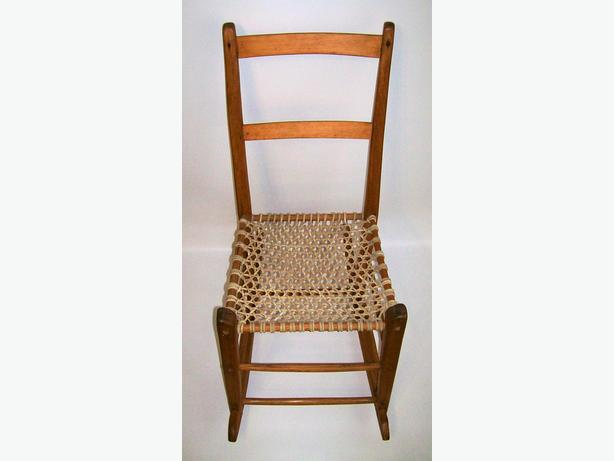 Chaise ber ante capucine antique antique rocking chair - Rocking chair confortable ...