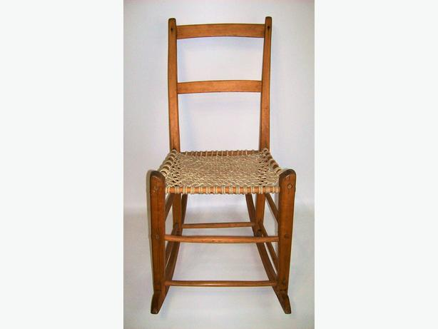 Chaise ber ante capucine antique antique rocking chair for Chaise capucine