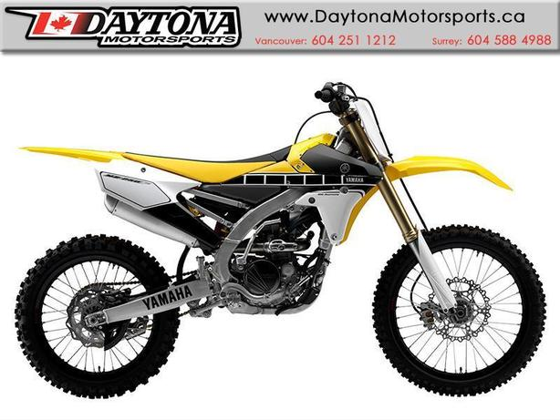 2016 Yamaha YZ250F MX * 60th Anniversary Edition *