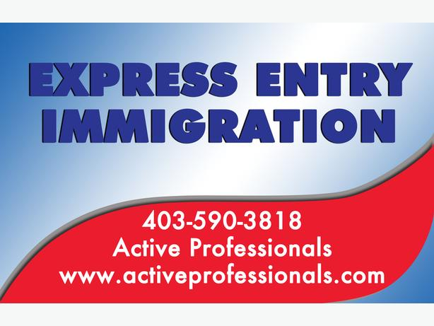 Express Entry Immigration - Call Today 403-590-3818 Watch|Share |Print|Report Ad