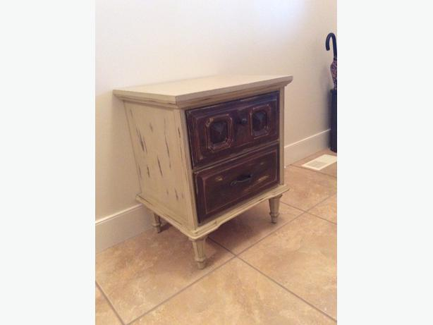 Price reduced side table night stand campbell river for Night stand cost