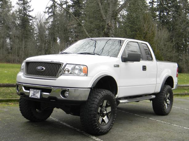 lifted lariat ford 2008 150 ad report