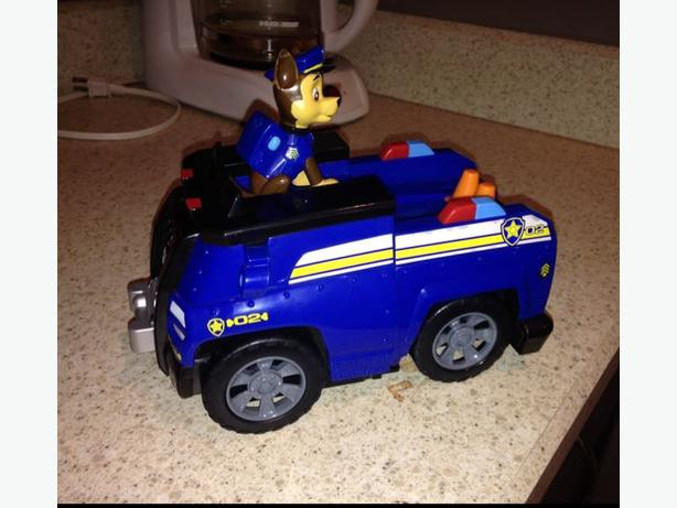 Paw Patrol Chase And Police Car