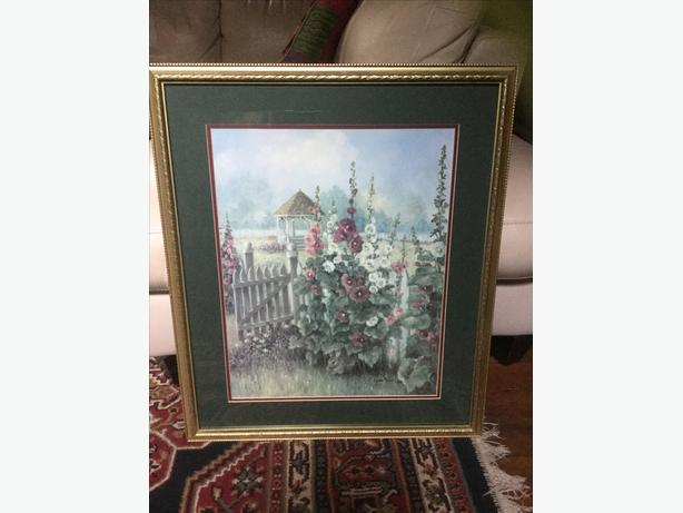 GLYNDA TURLEY Framed Print SIGNED & NUMBERED