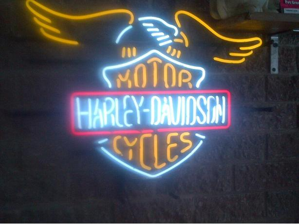 Just in, Harley neon
