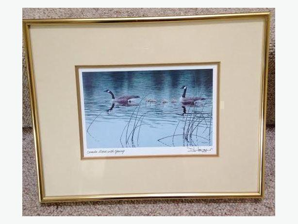 Framed Contemporary Canadian Art Card 2 For Sale
