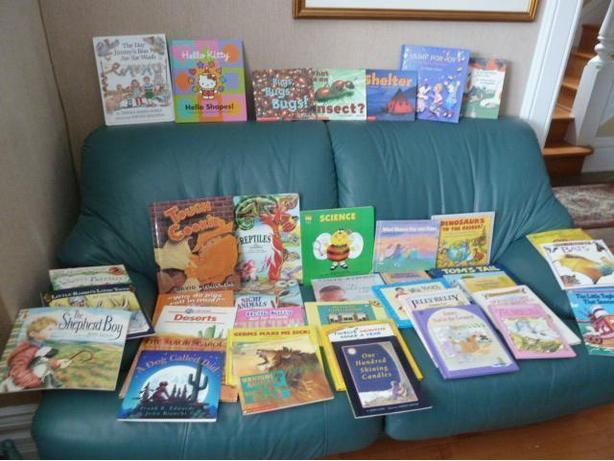 Collection of 40 Pre-school picture Books
