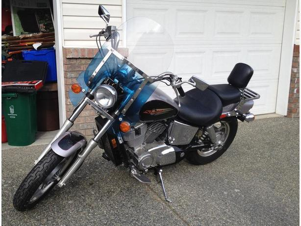 1999 Honda Shadow Spirit Vt1100 Central Nanaimo Nanaimo