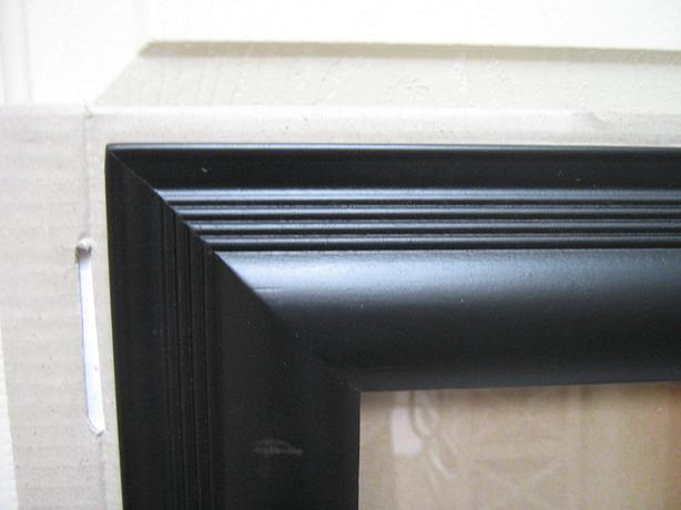 "FRAME 24x36 -2 1/2"" molded frame - SM. SCRATCHES."