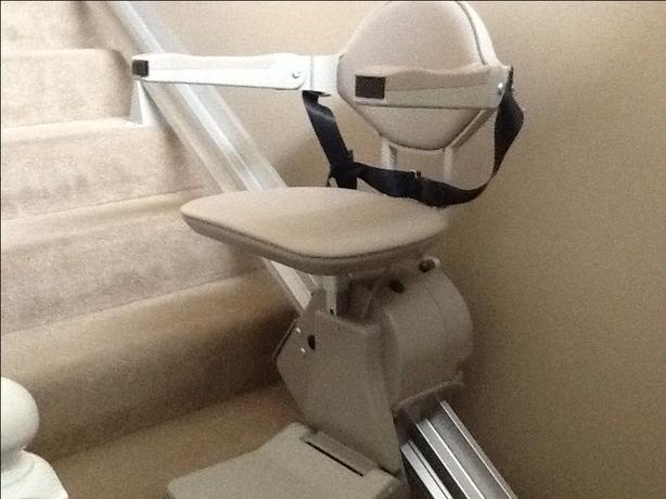 Bruno Battery-Powered Straight Rail Stairlifts sure-3000